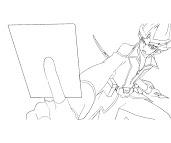 #8 Kaito Tenjo Coloring Page