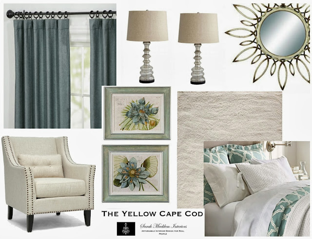 The yellow cape cod custom designs for Spa like bedroom designs