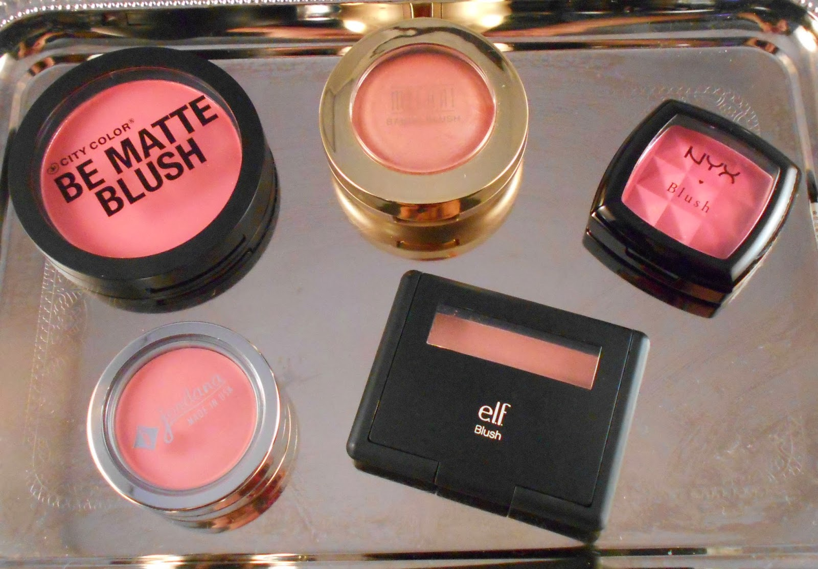 Top 5 Spring and Summer Drugstore Blushes
