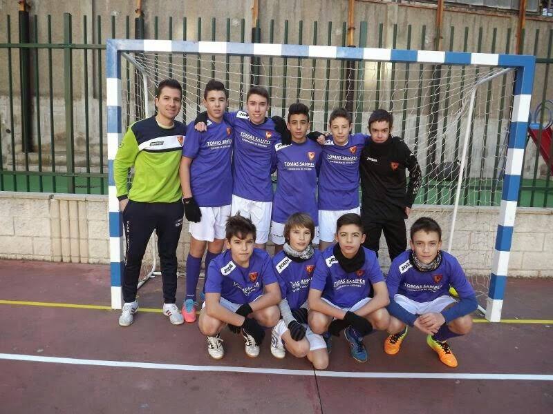 Club equipe sport 4 jornada de liga futbol sala 2013 for Federacion de futbol sala