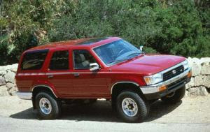 1992 Toyota 4runner Review & Owners Manual