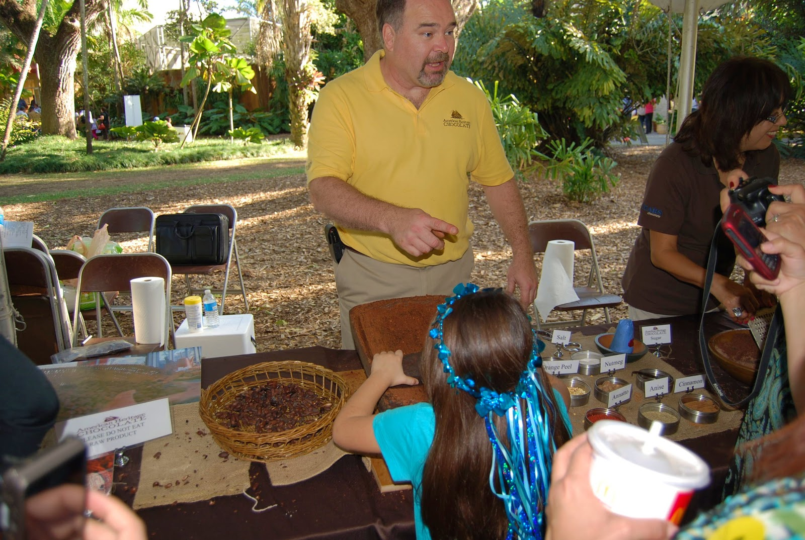 Helen A. Lockey: Chocolate Festival, Fairchild Tropical Garden ...
