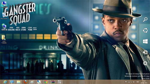 Gangster Squad Theme For Windows 7 And 8