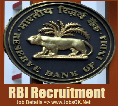 Bank Jobs, Government Jobs, Jobs in Mumbai, Post Graduation Degree, RBI, Reserve Bank of India