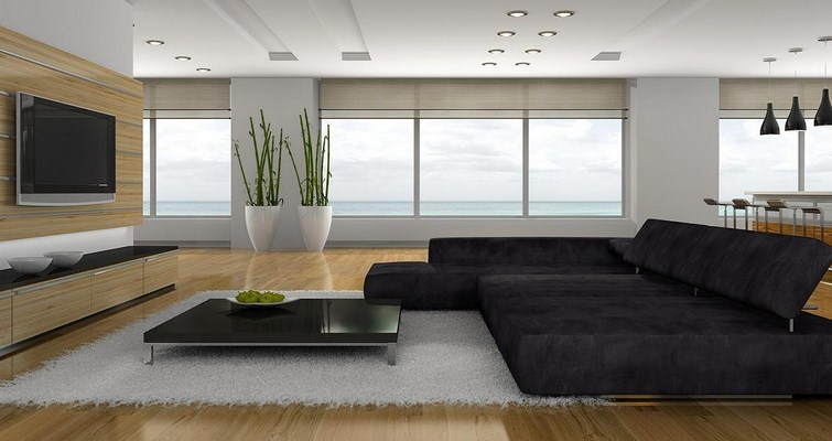 Modern living room design ideas for urban lifestyle home for Modern apartment decorating ideas photos