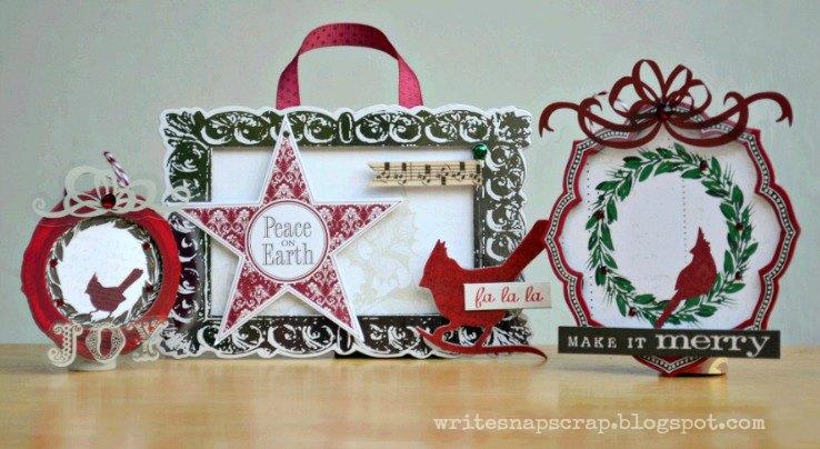 Write Snap Scrap: Easy Handmade Christmas Ornaments