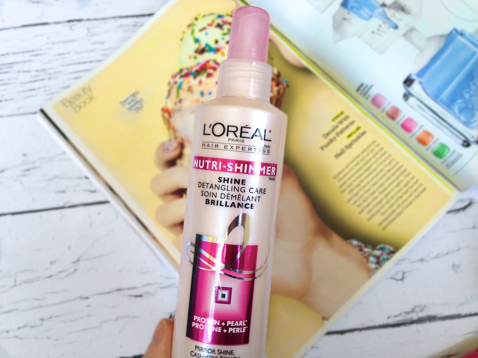 L'Oreal Nutri-Shimmer Shine Detangling Care Review