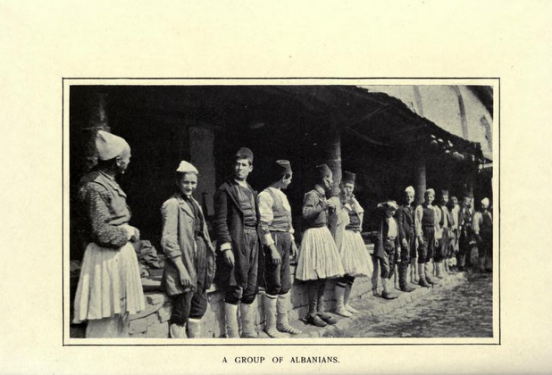 Group of Albanians