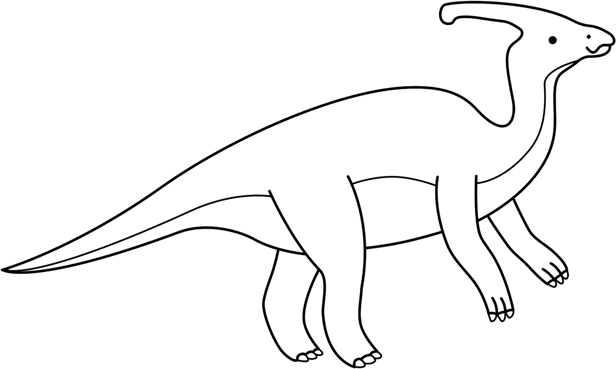 Dinosaur outline printable bing images for Dinosaur outline coloring pages