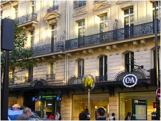 C&A store at Paris France