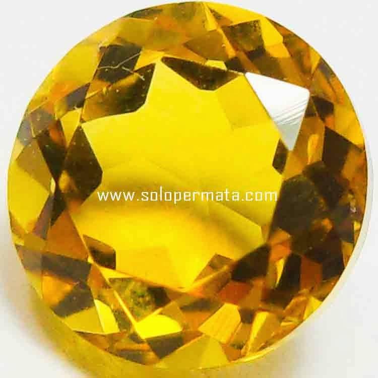Batu Permata Golden Citrine - 26B04