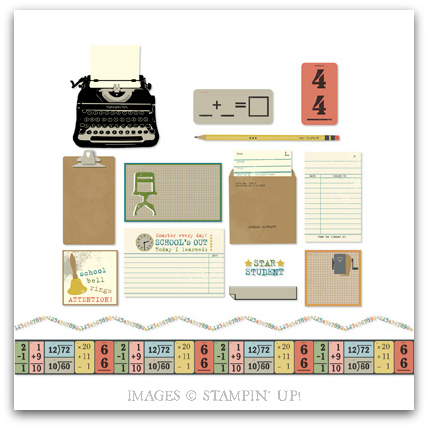 Old School Digital Kit by Stampin' Up!