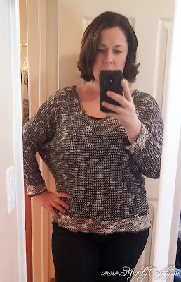 Marquis Slub Knit Dolman Sweater by Kut From The Kloth -- Stitch Fix Love Jan 2014 -- www.mightycrafty.me