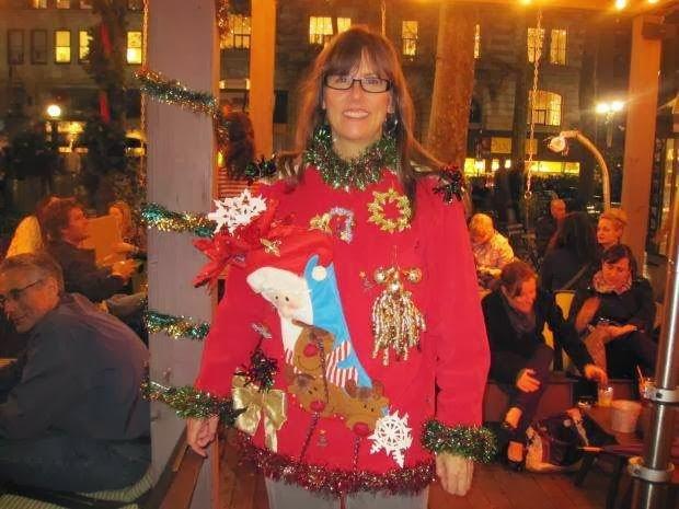 ugliest Christmas dress