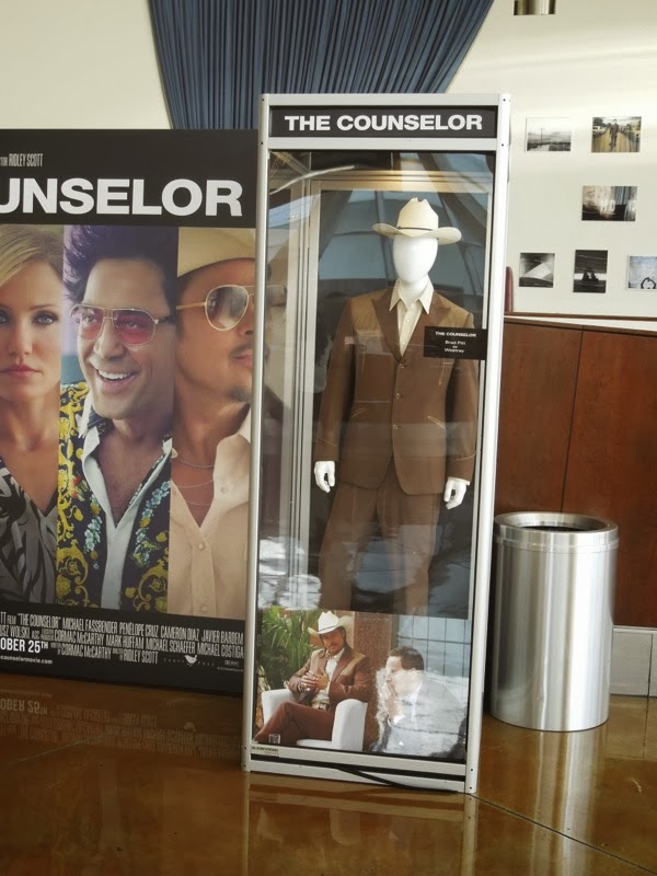 Brad Pitt The Counselor film costume