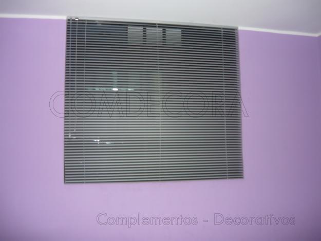 Comdecora persianas de aluminio - Percianas de aluminio ...