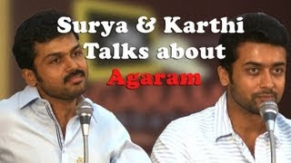 Actor Suriya and Actor Karthi Shared the stage and Spoke about the Students Reality