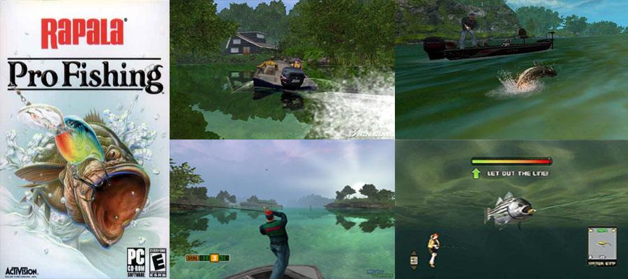 Pc rapala pro fishing download game anime for Rapala pro fishing