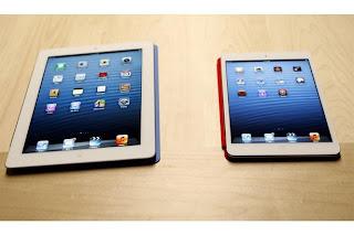 ipad mini vs ipad tablet