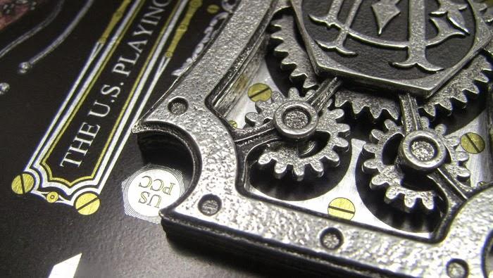 Kickstarter 3d Metal And Mechanized Playing Cards
