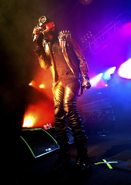 Marylin Manson,rock concert,rock singer