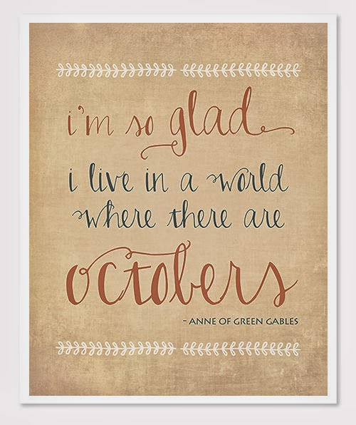 Lady linda welcome october time to decorate