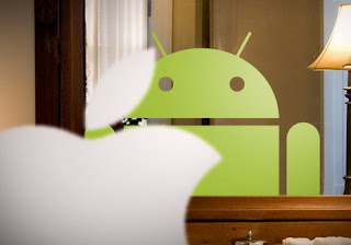 Apple Facing Mirror Sees Android