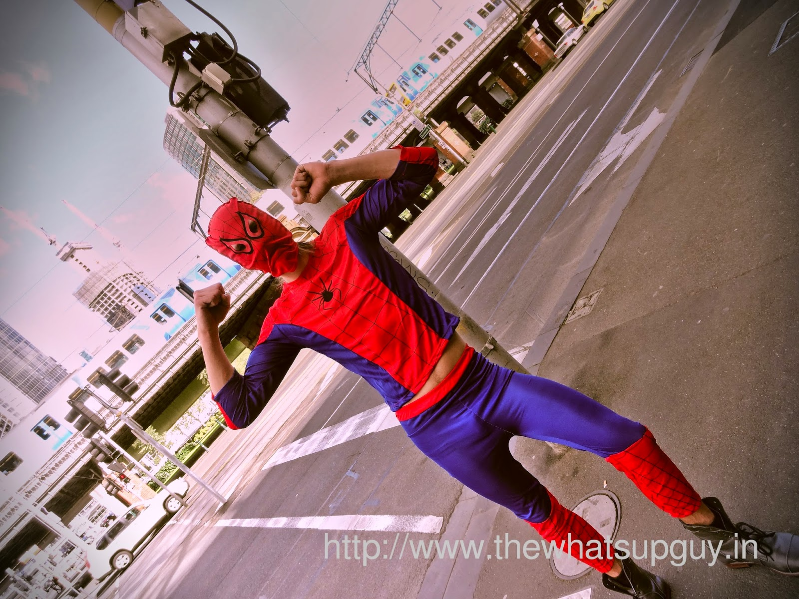 Spiderman in Melbourne