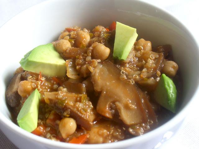 chickpea quinoa chili