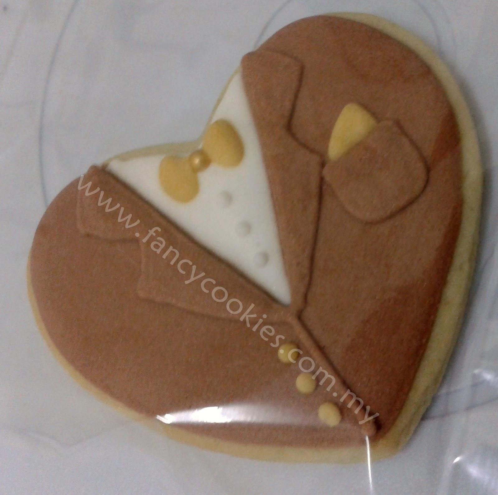 fancy cookies baju pengantin lelaki