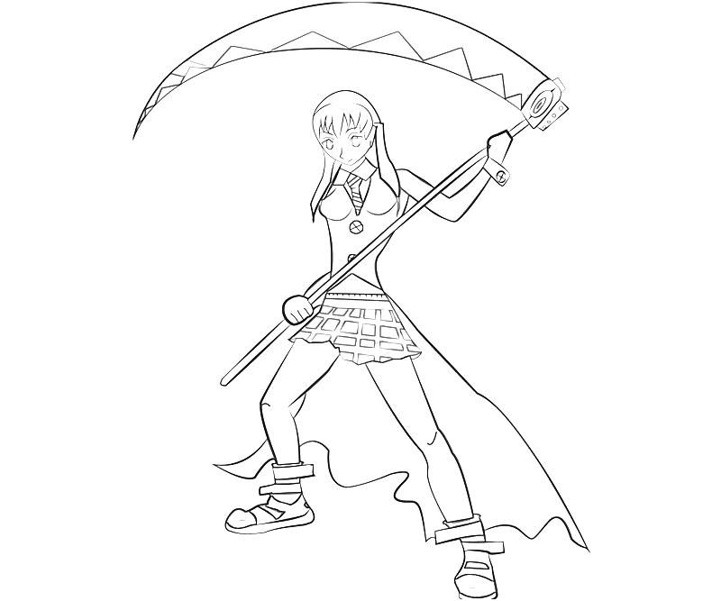 printable-soul-eater-maka-albarn-skill_coloring-pages