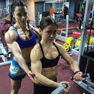Female bodybuilders :