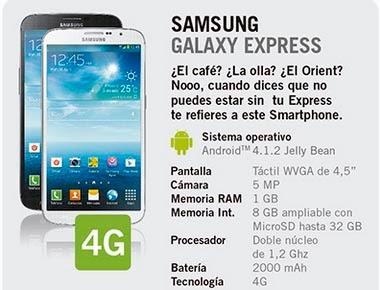 samsung galaxy express gratis yoigo