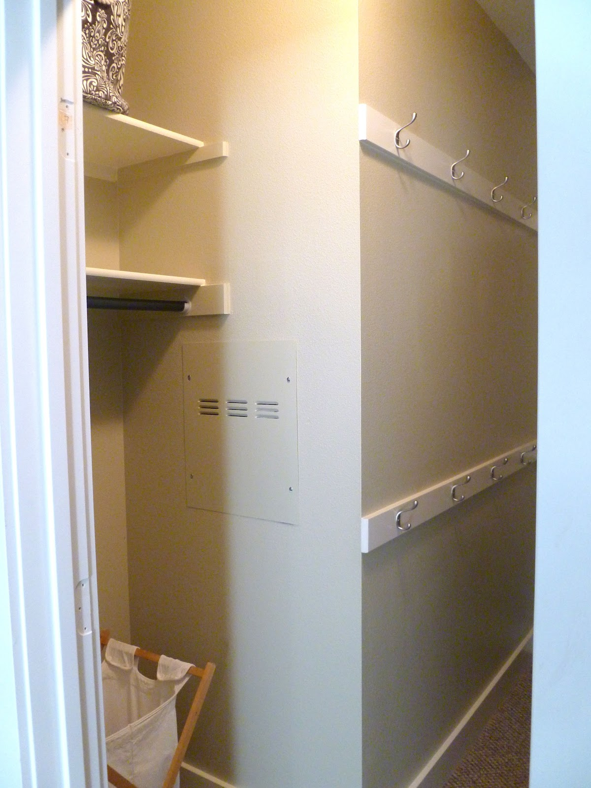 Closet Revamp. Full resolution  image, nominally Width 1200 Height 1600 pixels, image with #966D35.