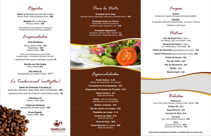 Estudio e dise o y publicidad dise o de imagen para for Disenos de menus para cafeterias