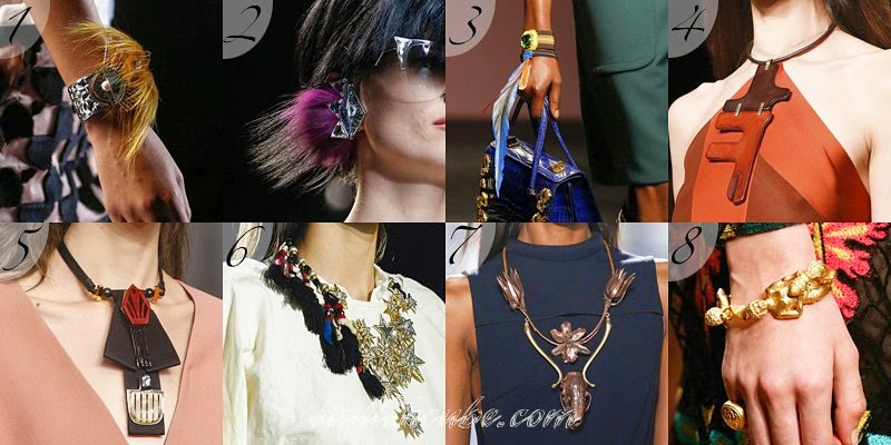 Summer 2014 Women's Jewelry Fashion Trends