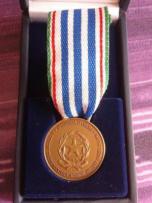 medaglia d'onore ai cittadini Italiani deportati e internati nei lager nazisti 1943-1945