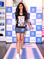 Juhi Chawla snapped at Adidas Store's new range launch