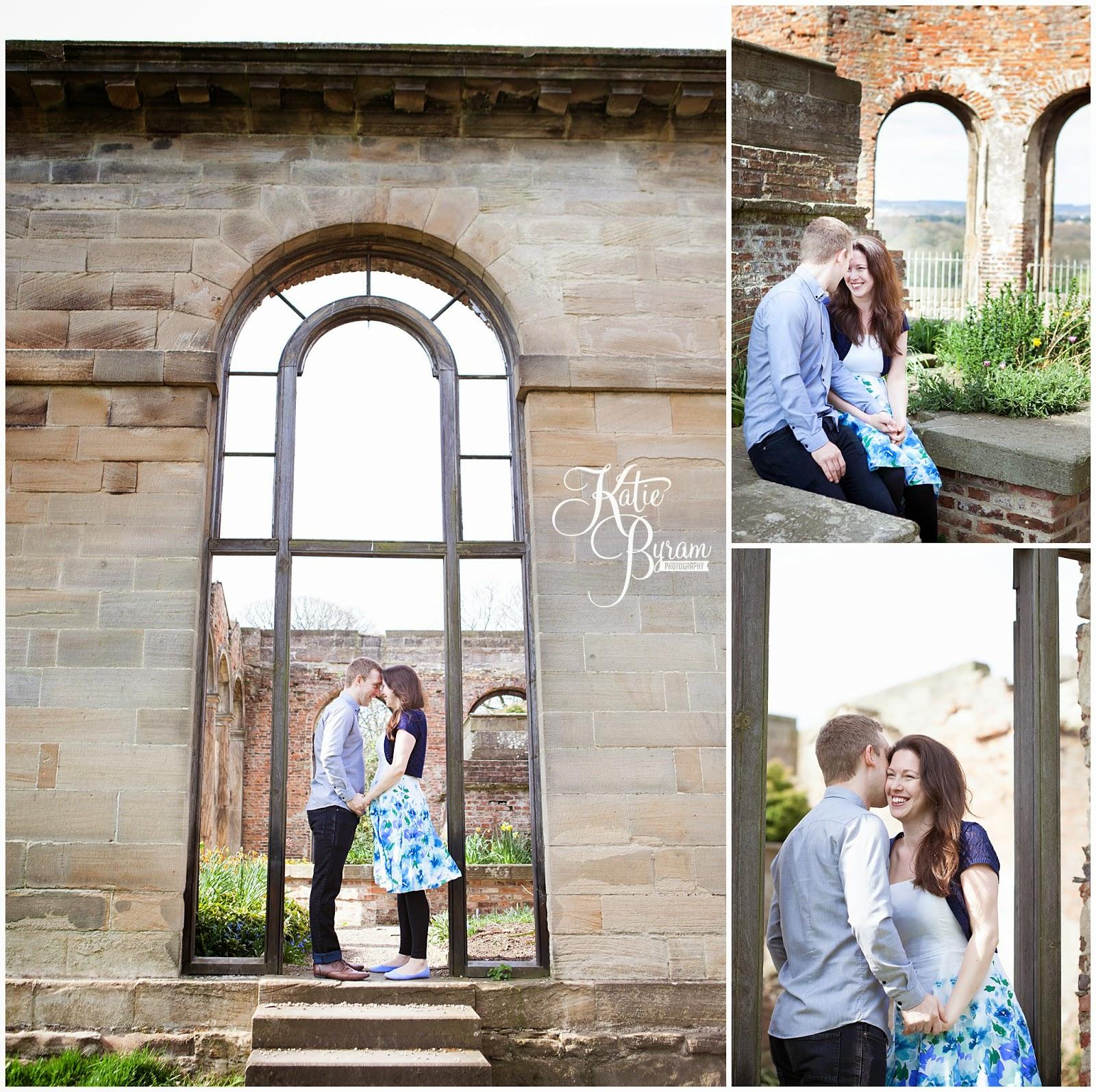 gibside wedding, gibside chapel, humanist wedding, pre-wedding shoot, outdoor wedding locations north east, katie byram photography, national trust wedding