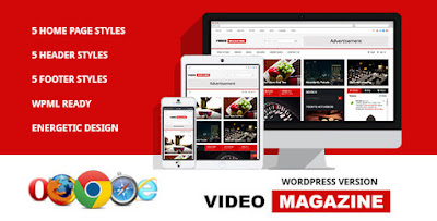 Download Video Magazine v2.0 – WordPress Magazine Theme