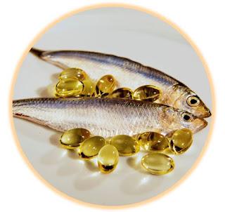 Gb. Khasiat / Manfaat Minyak Ikan ( Salmon )
