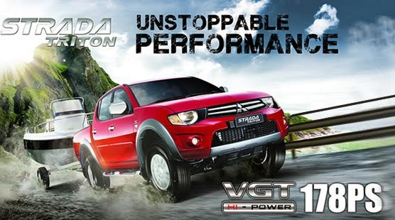 Harga Mitsubishi Strada Triton Exceed Hi‐Power Jambi
