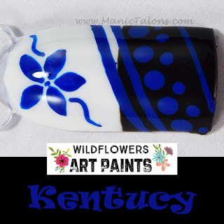 Wildflowers Nail Art Paint Kentucky