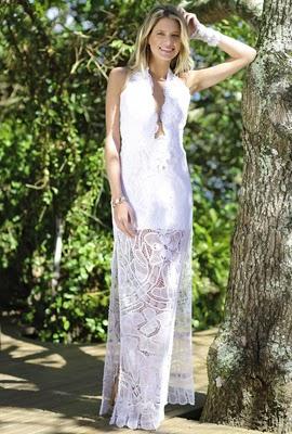 vestido longo Martha Medeiros Réveillon