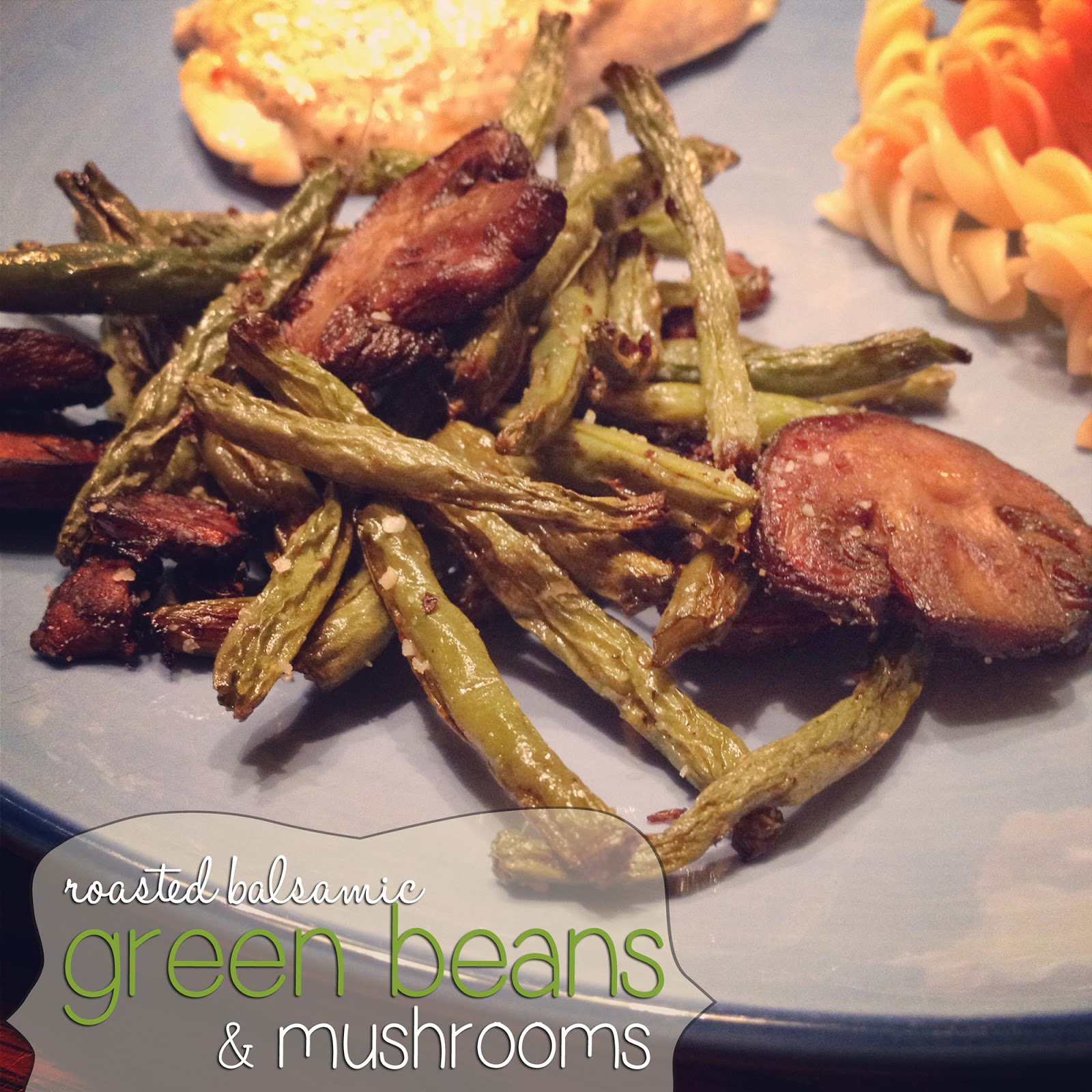 Balsamic Roasted Green Beans Recipes — Dishmaps