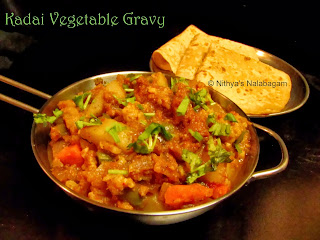 Kadai Vegetable Gravy