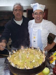 EL CHEF BARBEIRA Y PETRONA AYUDANTE