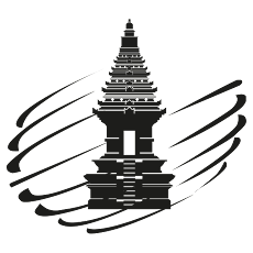 Ministry of Tourism and Creative Economy Republic of Indonesia logo bw