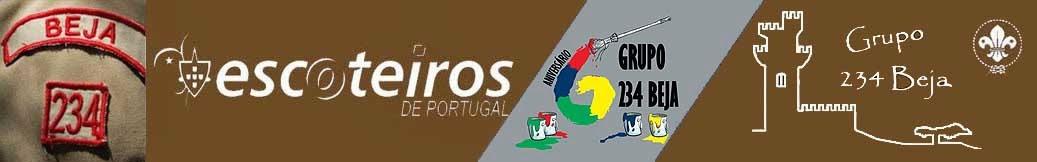 Escoteiros de Portugal - Grupo 234 Beja. AEP Beja. Escoteiros Alentejo. Portuguese Scouts.