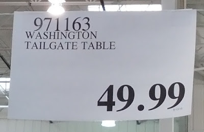 Deal for Washington Huskies Tailgate Table at Costco